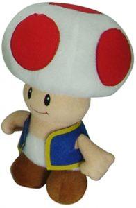Peluche de Toad de 15 cm de Mario Bros de Nintendo - Los mejores peluches de Toad - Peluches de personaje