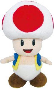 Peluche de Toad de 19 cm de Mario Bros de Nintendo 2 - Los mejores peluches de Toad - Peluches de personaje
