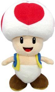 Peluche de Toad de 19 cm de Mario Bros de Nintendo - Los mejores peluches de Toad - Peluches de personaje
