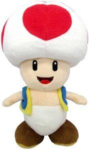 Peluche de Toad de 20 cm de Mario Bros de Nintendo 2 - Los mejores peluches de Toad - Peluches de personaje
