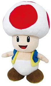 Peluche de Toad de 20 cm de Mario Bros de Nintendo - Los mejores peluches de Toad - Peluches de personaje