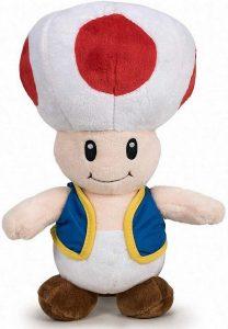 Peluche de Toad de 26 cm de Mario Bros de Nintendo - Los mejores peluches de Toad - Peluches de personaje