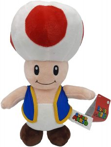 Peluche de Toad de 32 cm de Mario Bros de Nintendo 2 - Los mejores peluches de Toad - Peluches de personaje