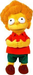 Peluche de Tod Flanders de 30 cm - Los mejores peluches de los Simpsons - Peluches de series de dibujos animados