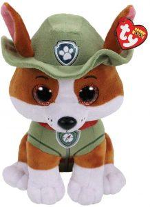 Peluche de Tracker de la Patrulla Canina de 24 cm de Ty 2 - Los mejores peluches de la Patrulla Canina - Peluches de la Patrulla Canina