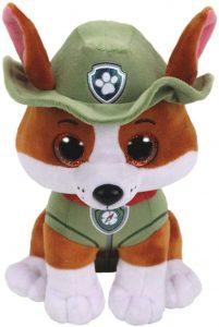 Peluche de Tracker de la Patrulla Canina de 24 cm de Ty - Los mejores peluches de la Patrulla Canina - Peluches de la Patrulla Canina