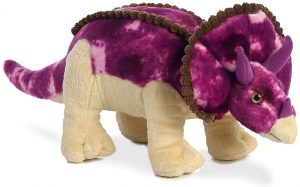 Peluche de Triceratops de Aurora de 33 cm - Los mejores peluches de Triceratops - Peluches de dinosaurios