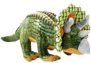 Peluche de Triceratops de Beppe de 40 cm - Los mejores peluches de Triceratops - Peluches de dinosaurios