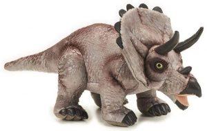 Peluche de Triceratops de National Geographic de 42 cm - Los mejores peluches de Triceratops - Peluches de dinosaurios