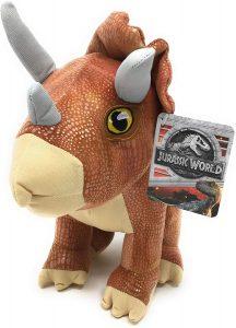 Peluche de Triceratops de Posh Paws de 25 cm - Los mejores peluches de Triceratops - Peluches de dinosaurios