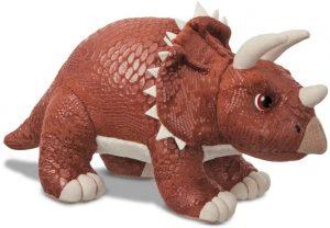 Peluche de Triceratops de Roar de 30 cm - Los mejores peluches de Triceratops - Peluches de dinosaurios