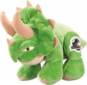 Peluche de Triceratops de Schmidt de 25 cm - Los mejores peluches de Triceratops - Peluches de dinosaurios
