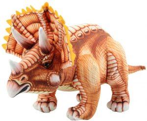 Peluche de Triceratops de Sweety Toys de 62 cm - Los mejores peluches de Triceratops - Peluches de dinosaurios