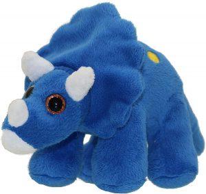 Peluche de Triceratops de Wilberry de 23 cm - Los mejores peluches de Triceratops - Peluches de dinosaurios