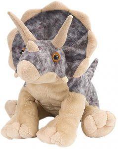 Peluche de Triceratops de Wild Republic de 30 cm 2 - Los mejores peluches de Triceratops - Peluches de dinosaurios