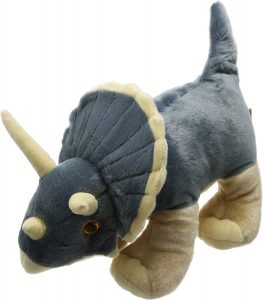 Peluche de Triceratops de Wild Republic de 30 cm - Los mejores peluches de Triceratops - Peluches de dinosaurios