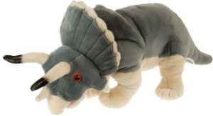 Peluche de Triceratops de Wild Republic de 50 cm - Los mejores peluches de Triceratops - Peluches de dinosaurios
