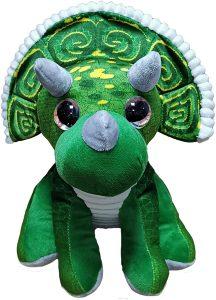 Peluche de Triceratops de dino de 20 cm 3 - Los mejores peluches de Triceratops - Peluches de dinosaurios