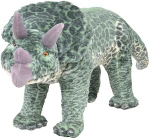 Peluche de Triceratops de vidaXL de 97 cm - Los mejores peluches de Triceratops - Peluches de dinosaurios
