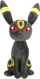 Peluche de Umbreon de Eevee de 20 cm - Los mejores peluches de Vaporeon - Peluches de Pokemon