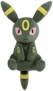 Peluche de Umbreon de Eevee de 30 cm - Los mejores peluches de Vaporeon - Peluches de Pokemon