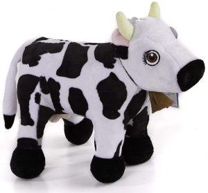 Peluche de Vaca Lola de la Granja de Zenón de 28 cm - Los mejores peluches de la granja de Zenón - Peluches de series de dibujos animados