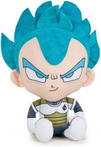 Peluche de Vegeta Super Saiyan Dios de Dragon Ball Z de 22 cm clásico - Los mejores peluches de Vegeta de Dragon Ball Z - Peluches de Dragon Ball Z