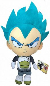 Peluche de Vegeta Super Saiyan Dios de Dragon Ball Z de 36 cm - Los mejores peluches de Vegeta de Dragon Ball Z - Peluches de Dragon Ball Z