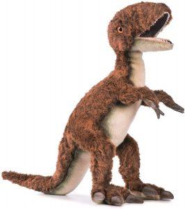 Peluche de Velociraptor de Hansa de 48 cm - Los mejores peluches de Velociraptor - Peluches de dinosaurios