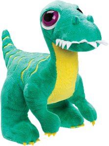 Peluche de Velociraptor de Suki Gifts de 24 cm - Los mejores peluches de Velociraptor - Peluches de dinosaurios