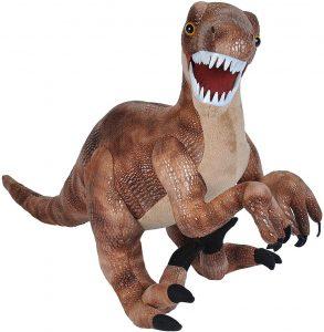 Peluche de Velociraptor de Wild Republic de 63 cm - Los mejores peluches de Velociraptor - Peluches de dinosaurios