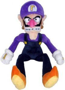 Peluche de Waluigi de 28 cm de Mario Bros de Nintendo - Los mejores peluches de Waluigi - Peluches de personaje