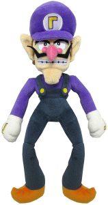 Peluche de Waluigi de 32 cm de Mario Bros de Nintendo - Los mejores peluches de Waluigi - Peluches de personaje