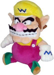 Peluche de Wario de 18 cm de Mario Bros de Nintendo - Los mejores peluches de Wario - Peluches de personaje