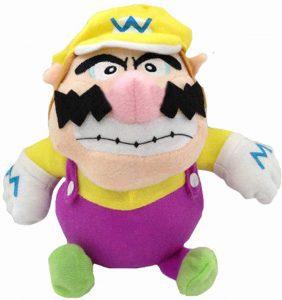 Peluche de Wario de 23 cm de Mario Bros de Nintendo - Los mejores peluches de Wario - Peluches de personaje