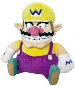 Peluche de Wario de 25 cm de Mario Bros de Nintendo 2 - Los mejores peluches de Wario - Peluches de personaje