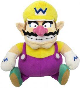 Peluche de Wario de 25 cm de Mario Bros de Nintendo - Los mejores peluches de Wario - Peluches de personaje