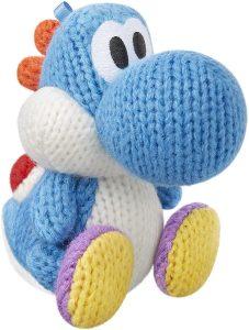 Peluche de Yoshi azul de 10 cm de Mario Bros de Nintendo - Los mejores peluches de Yoshi - Peluches de personajes del dinosaurio Yoshi