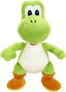 Peluche de Yoshi de 19 cm de Mario Bros de Nintendo - Los mejores peluches de Yoshi - Peluches de personajes del dinosaurio Yoshi