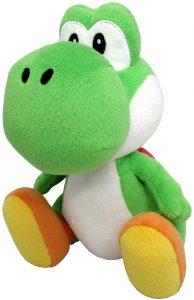 Peluche de Yoshi de 20 cm de Mario Bros de Nintendo - Los mejores peluches de Yoshi - Peluches de personajes del dinosaurio Yoshi