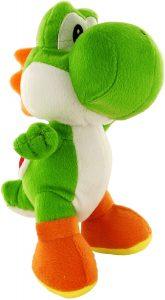 Peluche de Yoshi de 24 cm de Mario Bros de Nintendo 2 - Los mejores peluches de Yoshi - Peluches de personajes del dinosaurio Yoshi