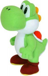 Peluche de Yoshi de 24 cm de Mario Bros de Nintendo - Los mejores peluches de Yoshi - Peluches de personajes del dinosaurio Yoshi