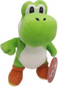 Peluche de Yoshi de 27 cm de Mario Bros de Nintendo - Los mejores peluches de Yoshi - Peluches de personajes del dinosaurio Yoshi