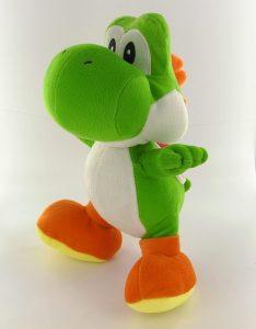 Peluche de Yoshi de 30 cm de Mario Bros 2 - Los mejores peluches de Yoshi - Peluches de personajes del dinosaurio Yoshi