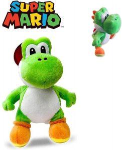 Peluche de Yoshi de 30 cm de Mario Bros - Los mejores peluches de Yoshi - Peluches de personajes del dinosaurio Yoshi