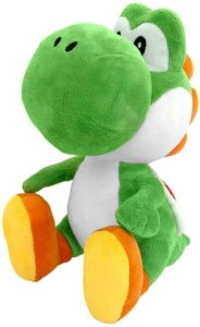 Peluche de Yoshi de 30 cm de Mario Bros de Nintendo - Los mejores peluches de Yoshi - Peluches de personajes del dinosaurio Yoshi