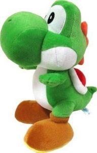 Peluche de Yoshi de 45 cm de Mario Bros de Nintendo - Los mejores peluches de Yoshi - Peluches de personajes del dinosaurio Yoshi