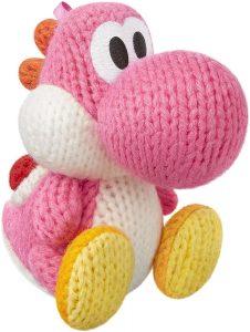 Peluche de Yoshi rosa de 10 cm de Mario Bros de Nintendo - Los mejores peluches de Yoshi - Peluches de personajes del dinosaurio Yoshi