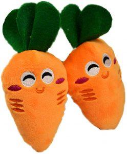 Peluche de Zanahoria de 13 cm - Los mejores peluches de zanahorias - Peluches de frutas y verduras