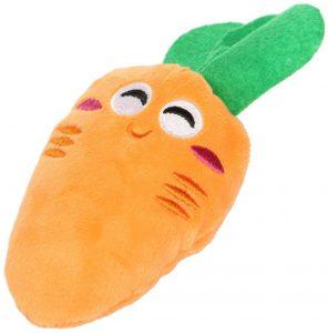 Peluche de Zanahoria de 14 cm - Los mejores peluches de zanahorias - Peluches de frutas y verduras